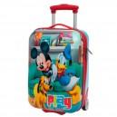 Maleta rigida Mickey & Pluto 48 cm