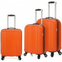 Pack 3 trolley 4 ruedas